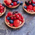 Fruittaartjes met Hero Frambozen Jam