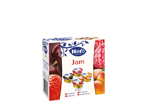 Hero Extra Jam cupjes 10 x 25G