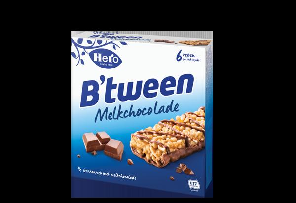 Hero B'tween Melkchocolade 6 x 25G