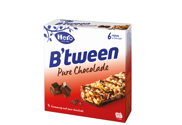 Hero B'tween Pure Chocolade 6 x 23G