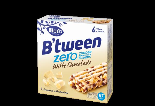 Hero B'tween Zero Witte Chocolade 6 x 20G