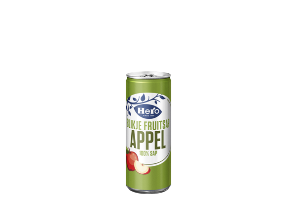 Hero Appelsap blik 250 ML