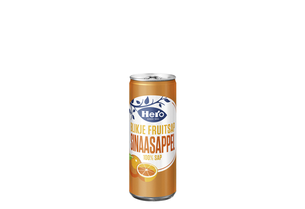 Hero Fruitsap Sinaasappelsap 250ML